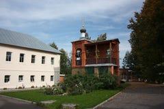 Pokrov. Vvedensky island hermitage (monastery). Royalty Free Stock Image