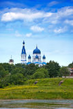 Pokrova Bozhiej Materi's orthodox church in Marienburg, Gatchina, Royalty Free Stock Photography