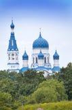 Pokrova Bozhiej Materi's orthodox church in Marienburg, Gatchina, Russia Royalty Free Stock Image