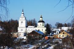 Pokrova Presvjatoj Bogoroditsy's temple Royalty Free Stock Image