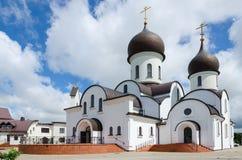 Pokrovo-尼古拉斯教会,克莱佩达,立陶宛 免版税库存图片