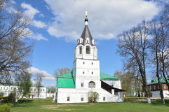 Pokrovskaya Church in Alexandrovskaya Sloboda, Alexandrov, Vladimir region, Golden ring of Russia Stock Photos
