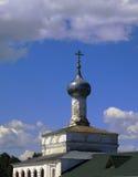 Pokrovskaya church of St. Nicholas Monastery Klobu Royalty Free Stock Photo