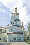 pokrovskiy mankloster Arkivbild