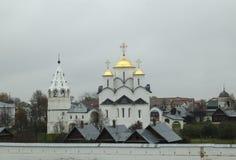 Pokrovskiy monastery. The view of  Pokrovskyi monastery in Suzdal, Russia Royalty Free Stock Image