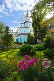 Pokrovsky修道院。 哈尔科夫 免版税图库摄影