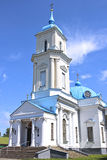 Pokrovsky Cathedral in the city of Baranovichi in Belarus Royalty Free Stock Photo