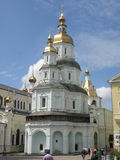 Pokrovsky Cathedral in Kharkov Stock Photo
