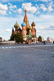 Pokrovsky cathedral on Red square in Moscow Stock Photo