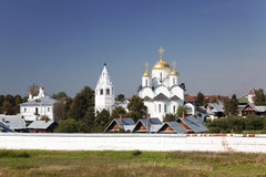 Pokrovsky convent in Suzdal. Russia Royalty Free Stock Photo