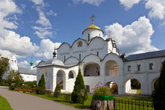 Pokrovsky convent. Suzdal Royalty Free Stock Photos