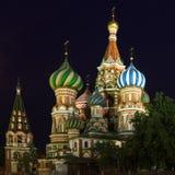 Pokrovsky domkyrka Royaltyfria Bilder