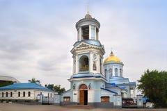 Pokrovsky domkyrka i den Voronezh staden, Ryssland Royaltyfria Foton