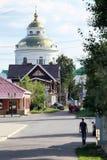 Pokrovsky domkyrka i Elabuga Royaltyfri Bild