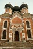 Pokrovsky domkyrka i Izmailovo. Fotografering för Bildbyråer