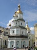 Pokrovsky domkyrka i Kharkov arkivfoto