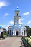 Pokrovsky domkyrka i staden av Baranovichi i Vitryssland Arkivbild