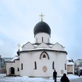 Pokrovsky domkyrka Martha och Mary Convent moscow Royaltyfri Foto