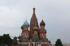 Pokrovsky domkyrka & x28; St Basil& x29; Royaltyfri Foto