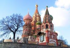 Pokrovsky een kathedraal. Stock Fotografie