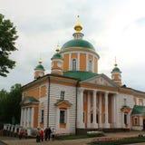 Pokrovsky Khotkovo修道院 免版税库存图片