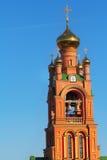Pokrovsky-Kloster in Kiew Stockfotos