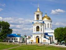 Pokrovsky kościół ÑˆÑ Katedralny 'Voronezh, Rosja Obraz Stock