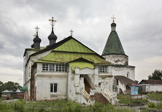 Pokrovsky Monastery in Balakhna. Russia Royalty Free Stock Images