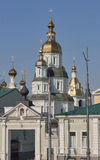 Pokrovsky Monastery in Kharkiv, Ukraine Royalty Free Stock Photography