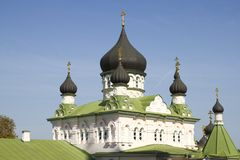 Pokrovsky  Monastery in Kiev , Ukraine . Royalty Free Stock Photo