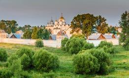 Pokrovsky Monastery in Suzdal Stock Image