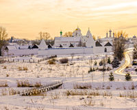 Pokrovsky Monastery in Suzdal. Russia Stock Image