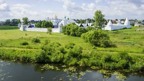 Pokrovsky monastery in Suzdal, Russia Royalty Free Stock Photo