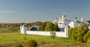 Pokrovsky monastery in Suzdal Russia Stock Photography