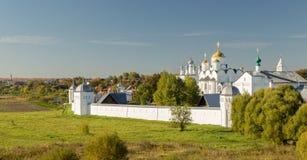 Pokrovsky monastery in Suzdal Russia Stock Photography
