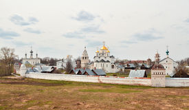 Pokrovsky monastery in the town of Suzdal Stock Photo