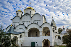 Pokrovsky Monastery Stock Image