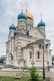 Pokrovsky Russian Orthodox Cathedral in Vladivostok,  Russia Royalty Free Stock Photos
