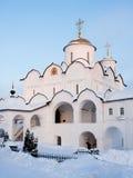 修道院pokrovsky suzdal 免版税库存图片