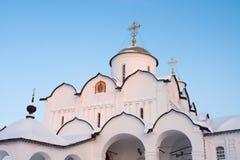 pokrovsky suzdal för kloster Arkivbild