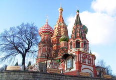 Pokrovsky une cathédrale. photographie stock