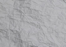 Pokruszona biała drukowego papieru tekstura zdjęcia stock