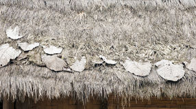pokrywać strzechą Laos dach Zdjęcie Stock
