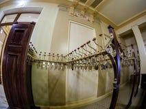 Pokrywa stojaka w Metropol hotelu w Moskwa, Rosja Zdjęcia Stock