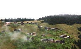 Pokutplateau op Kackar-bergen in Turkije Stock Afbeeldingen