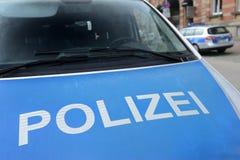 Polícia alemão Imagem de Stock