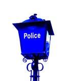 A polícia assina Imagem de Stock Royalty Free