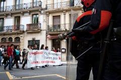 Polícia Basque Fotografia de Stock Royalty Free