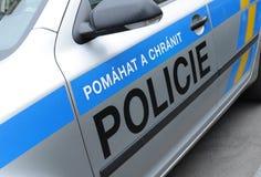 Polícia checa Imagem de Stock