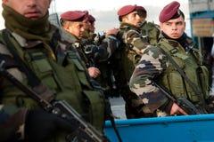 Polícia da autoridade palestina foto de stock